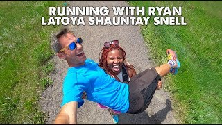 Latoya Shauntay Snell is a Fit Fat Athlete-Running with Ryan-Ep 7