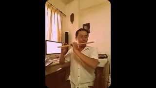 ĐẤT NƯỚC TRỌN NIỀM VUI - Sáo Nsut Đinh Linh | Độc tấu sáo cực hay