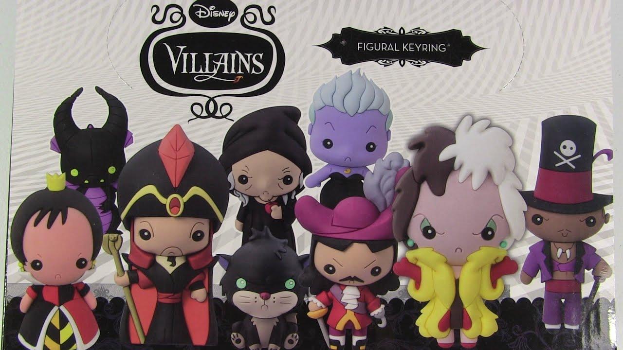 Disney Villains Figural Keyrings Blind Bag Surprise