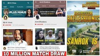 BB KI VINES | AMIT BHADANA | 10 MILLION MATCH DRAW | PUBG NEW MAP GLOBALLY OUT