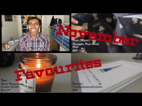November Favourites | VLOGMAS