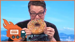 We Get Way Too Many Donuts - Kinda Funny Morning Show 07.12.2017