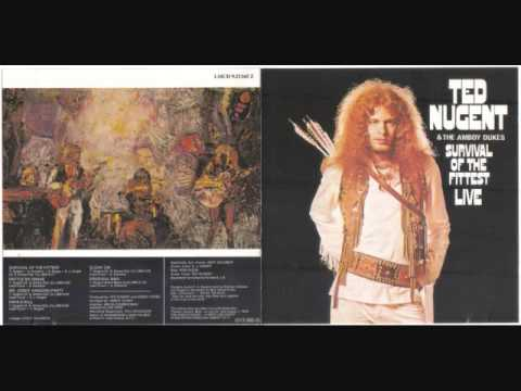 Ted Nugent & The Amboy Dukes - Survival of the Fittest Live (Full LP)