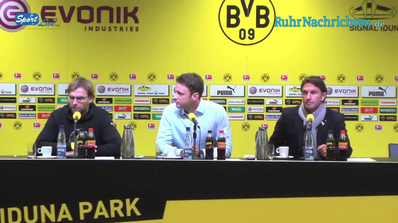 BVB Pressekonferenz vom 3. November 2012 nach dem Spiel Borussia Dortmund - VfB Stuttgart (0:0)