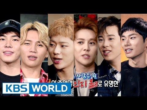 Entertainment Weekly   연예가중계 - Block B, K.will, Wheesung [ENG/2016.04.22]