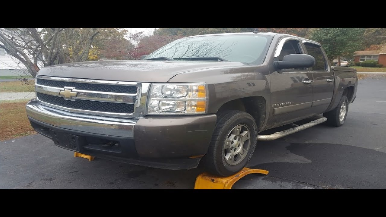 2008 Chevrolet Silverado Oil Change And Computer Reset