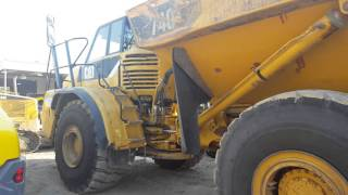 Off road Caterpillar 740 Articulated Truck