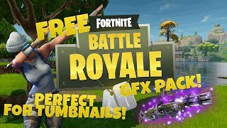 FREE Fortnite GFX pack DL in Desc (speedart)