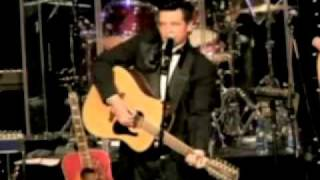 Philip Bauer performs as the Man In Black, Johnny Cash Tribute