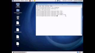 Terminal Commands in Fedora pt2