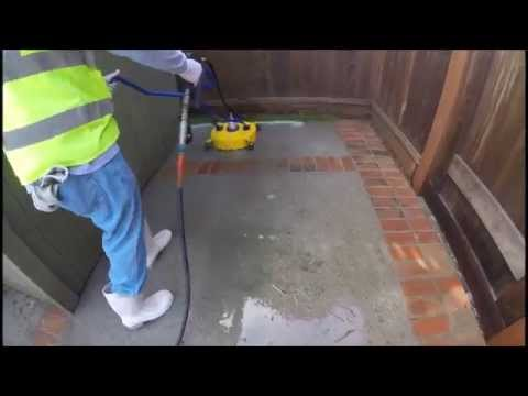 Pressure Washing Patio in Willow Glen San Jose CA
