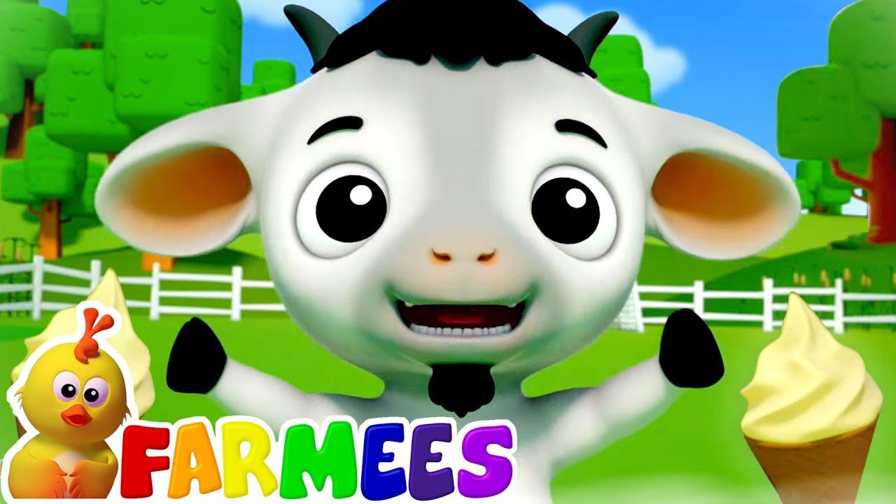 Baby Goat Baby Goat Yes Mama - Johny Johny Yes Papa Version | Nursery Rhymes & Kids Song - Farmees