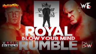 Wwe  Royal Rumble 2017  Blow Your Mind  Theme Song  Ae+arena Effects 2016  By Ohana Bam