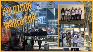 Blizzcon Overwatch World Cup 2016 Player trip (Team France)