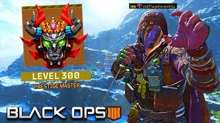 this is what LEVEL 300 LOOKS LIKE WITHOUT SHOOTING A BULLET in BLACK OPS 4..