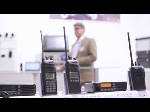 Icom's New Range of Two Way Business Radio Solutions (PMR EXPO 2013)