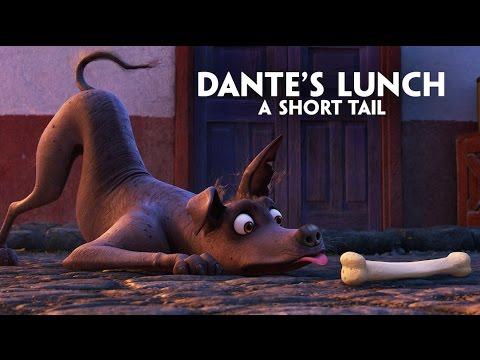 "Thumbnail: Disney•Pixar's Coco presents ""Dante's Lunch - A Short Tail"""