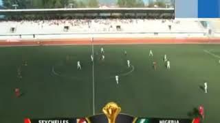 Seychelles 0-3 Super Eagles