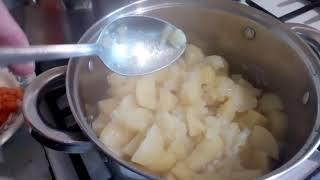 Тушёная картошка по рецепту нашей бабушки Оли 18