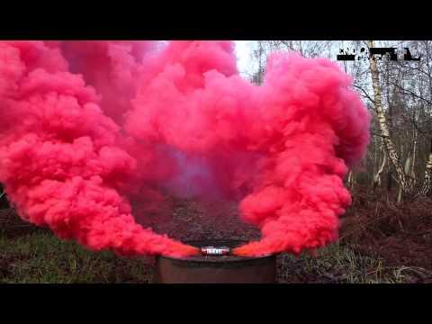 Enola Gaye - BURST Wirepull Smoke Grenade - RED