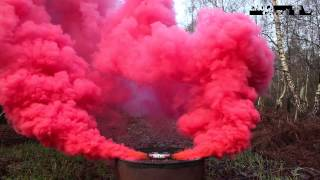 Enola Gaye - BURST Wirepull Smoke Grenade - RED