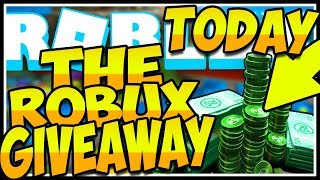 🤑ROBUX GIVEAWAY HEUTE🚨ROBLOX🤑