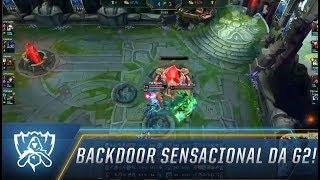 Backdoor sensacional da G2!