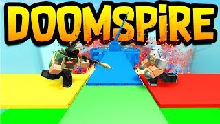 PLAYING DOOMSPIRE on Destruction Simulator! Roblox
