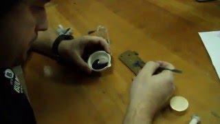 #2: Що буде, якщо до магнієвої стружки добавити марганцовку і одну крапельку гліцерину?