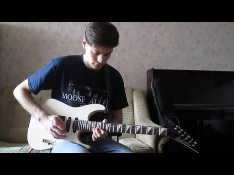 Shots - Imagine Dragons - electric guitar cover by Ihor P