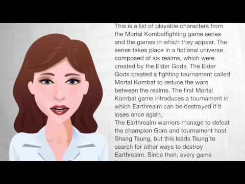 List of Mortal Kombat characters - Wiki Videos