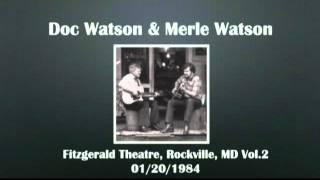【CGUBA114】Doc Watson & Merle Watson 01/20/1984 Vol.2