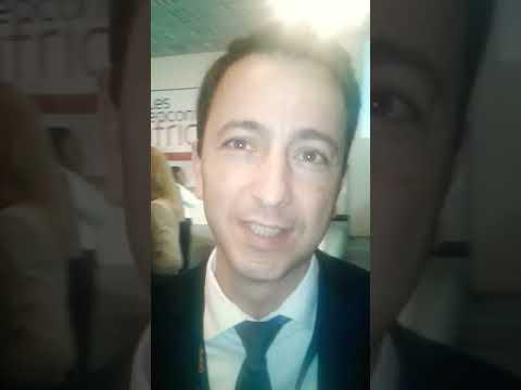 Enttetien Mr Clemente DG de Proparco Filiale de l-AFD .Agence Francaise de Developpement AFRB2B 2017
