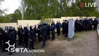 Фото Срочно В ЕКБ баррикадируют сквер от протестующих горожан