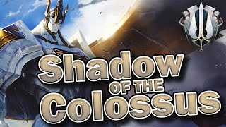 Shadow of the Colossus (Galio Lore)