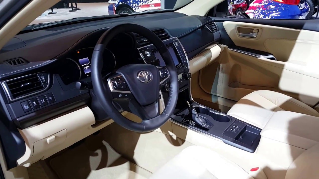 2016 Toyota Camry Xle Interior Walkaround Price Site Cars You