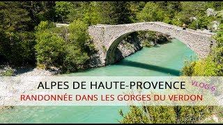 Alpes-de-Haute-Provence : Randonnée dans les Gorges du Verdon