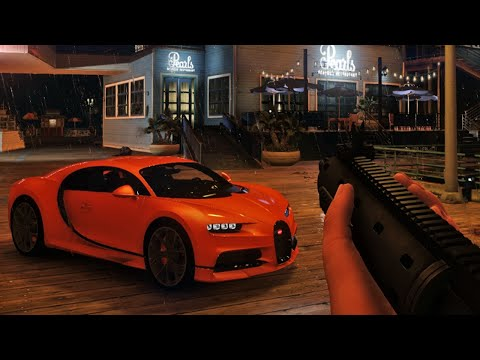 ASÍ SE VE GTA 6!! - Grand Theft Auto VI Gráficas Realistas HD GTA 5 MOD GAMEPLAY