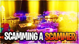 FORTNITE SAVE THE WORLD SCAMMER TRIES TO SCAM ME *MUST WATCH*