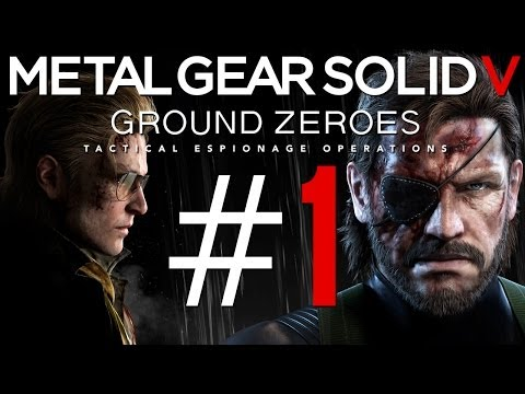 Metal Gear Solid 5: Ground Zeroes Gameplay #1 - Let's Play MGS5: Ground Zeroes German