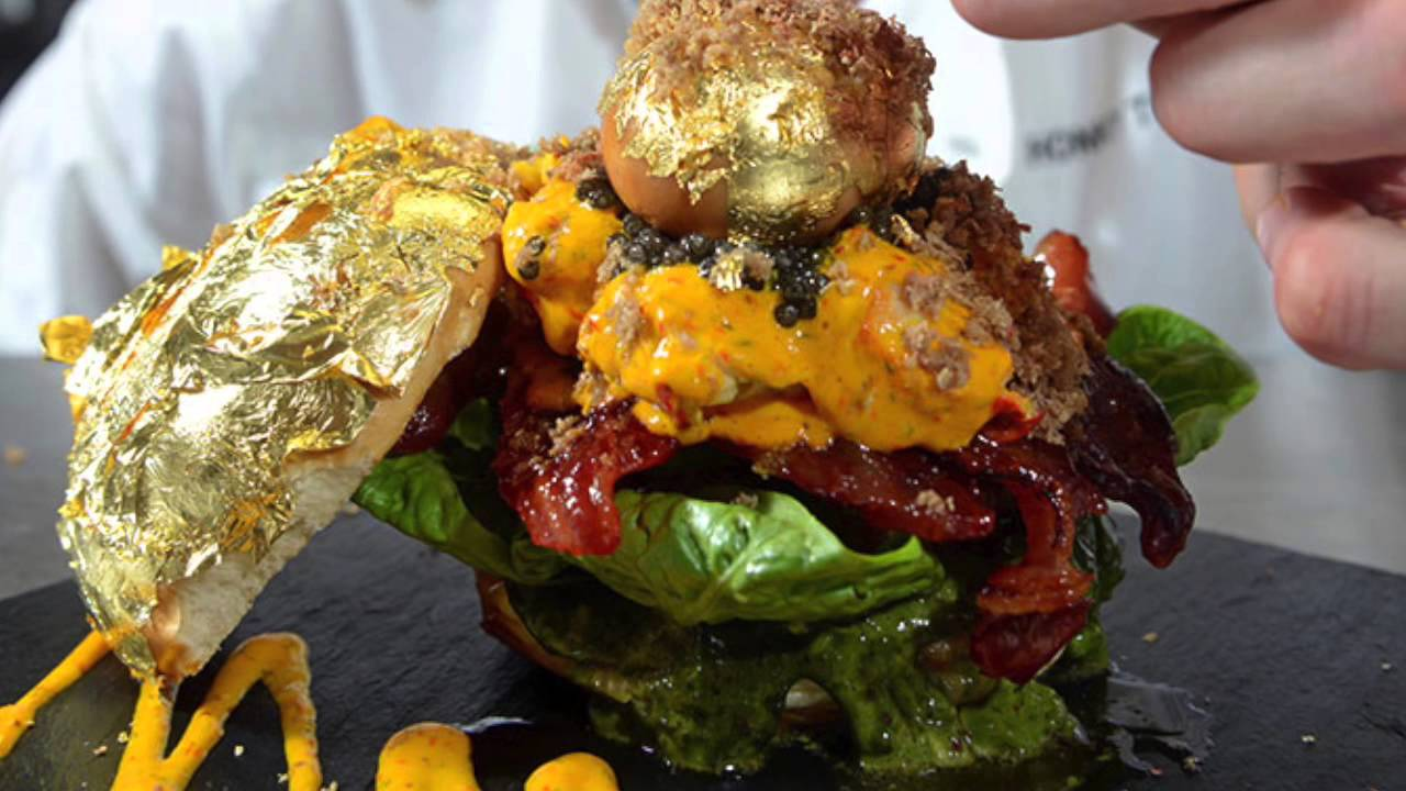 Top 10 most expensive burgers in the world top food youtube - Top 10 cuisines of the world ...