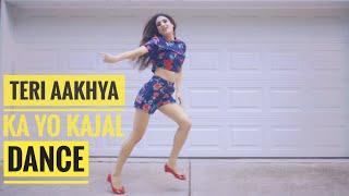 Teri Aakhya Ka Yo Kajal Dance Performance | Sapna Choudhary Song ankho
