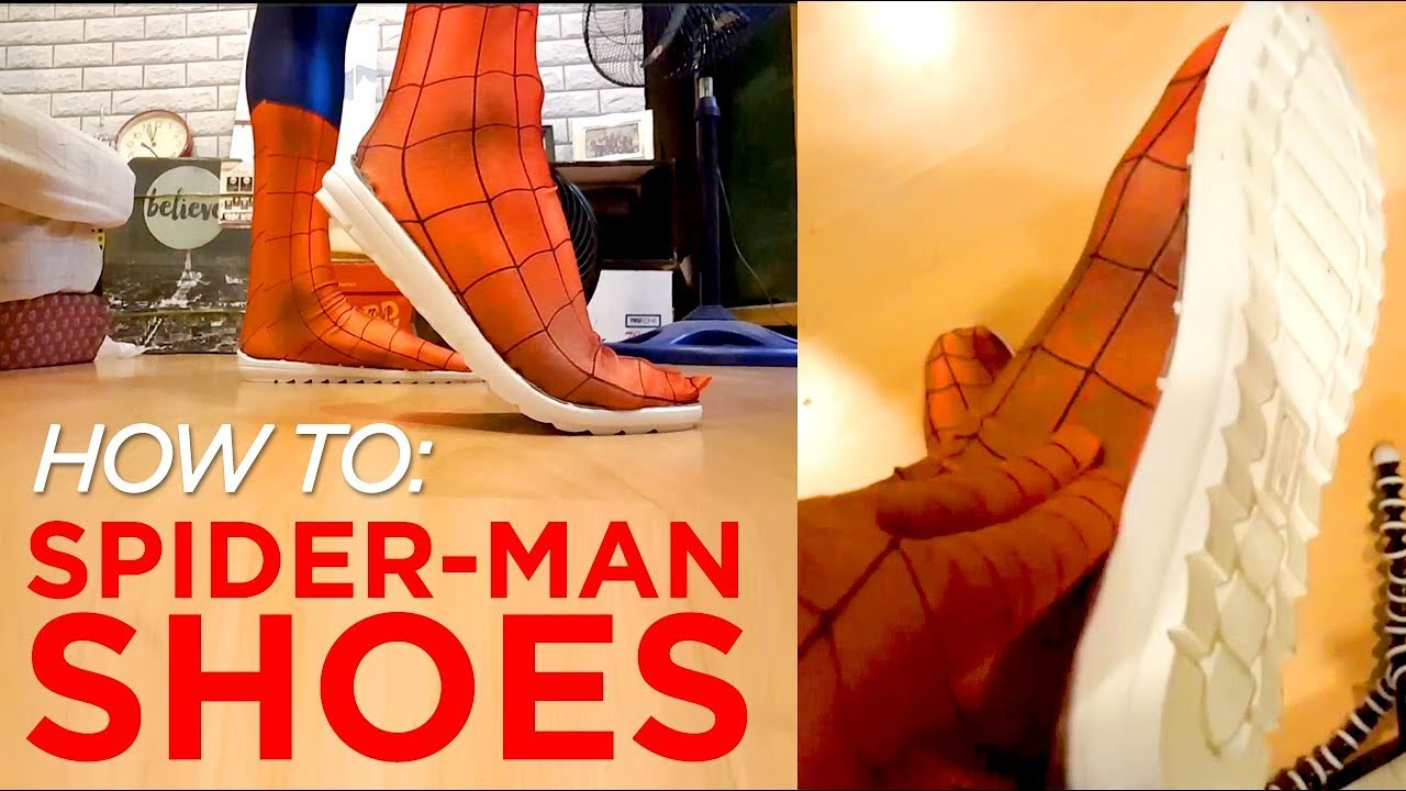 How To Spider Man Shoes Attach Rubber Soles To Your