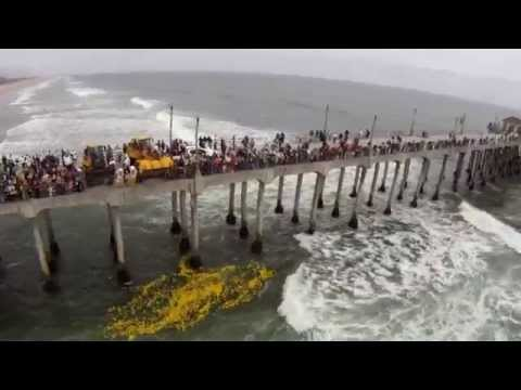 Huntington Beach 2011 DUCK-A-THON! Official Aerial Video Coverage Of Surf City In HD!