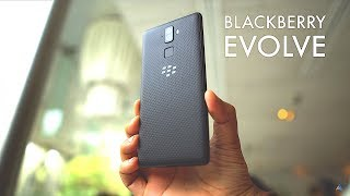 [HINDI] BlackBerry Evolve hands on REVIEW [CAMERA, GAMING]