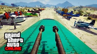 SMUGGLER'S RUN DLC - AIRPLANE SHOW! || GTA 5 Online || PC (Funny Moments)