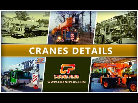 Cranes Available For Hire and Sale with CranePlus
