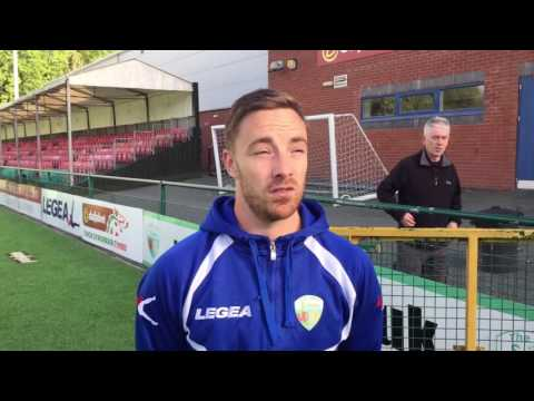 Post - Match Interview with Jon Routledge - Bangor