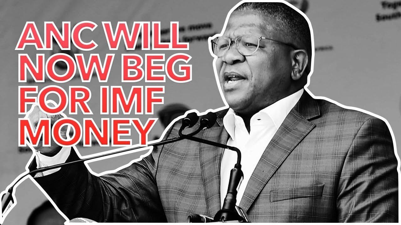 ANC Will Now Beg For IMF Money