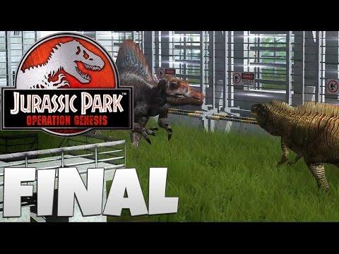 Jurassic Park: Operation Genesis - Part 22: Forgotten Dinosaur Arena! (+ CARNIVORE ROYAL RUMBLE)
